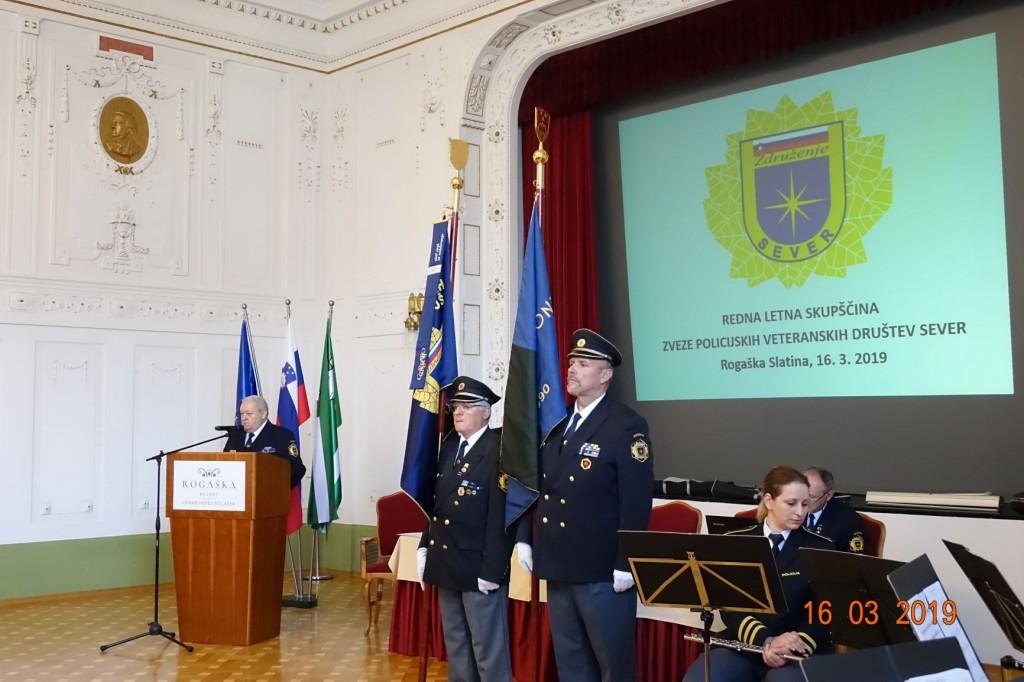 Redna letna skupščina Zveze policijskih veteranskih društev Sever