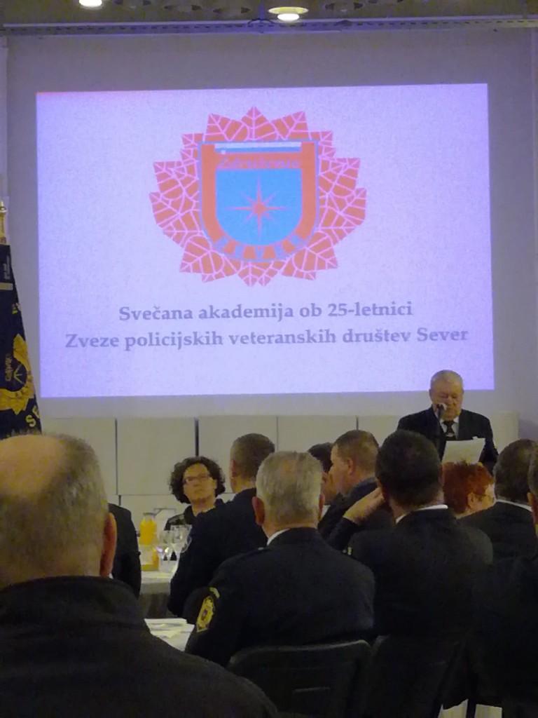 25 let Zveze policijskih veteranskih društev Sever