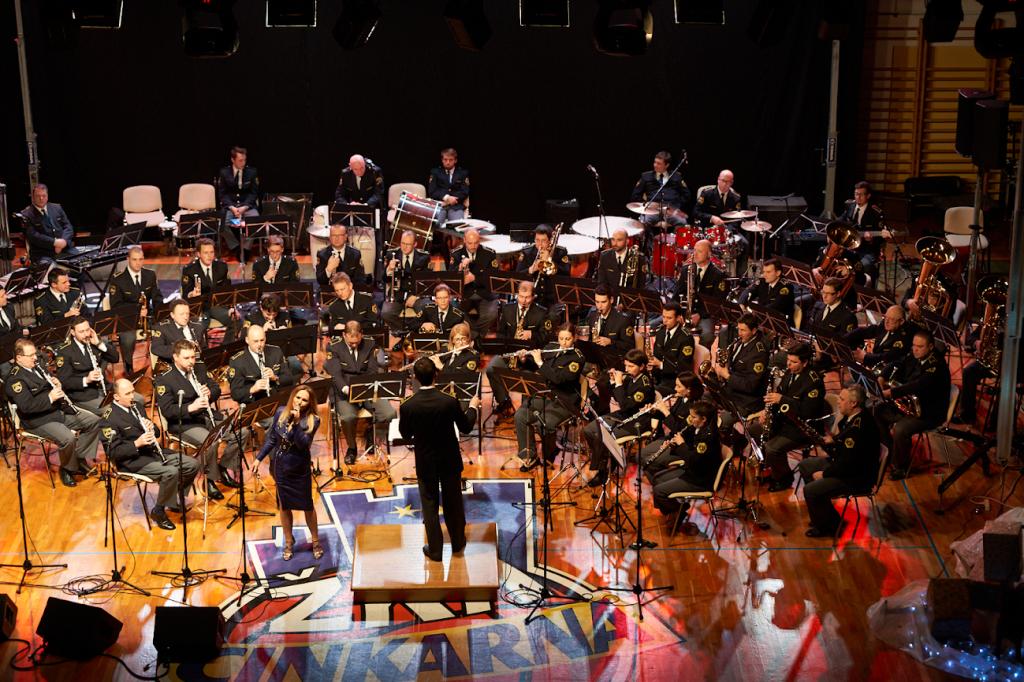 Koncert policijskega orkestra v Celju